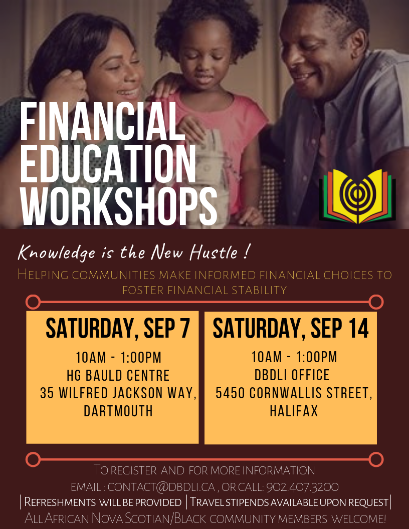 Financial Education Workshop Flyer