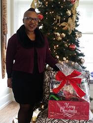 Gail Wilson, Holiday Gift Basket Winner