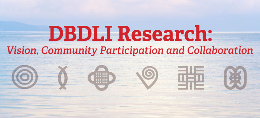DBDLI Research: Vision, Community Participation and Collaboration